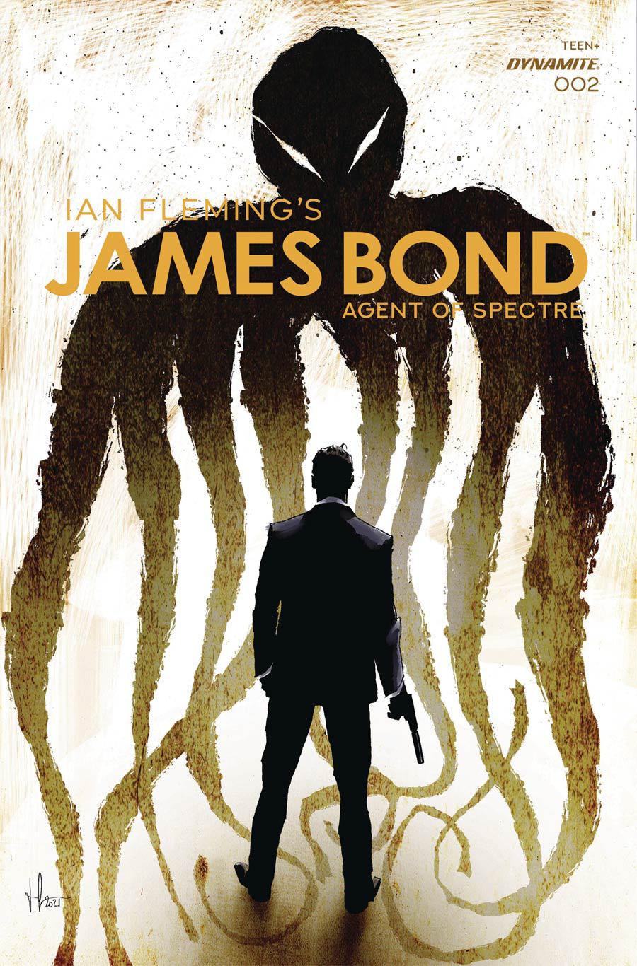 James Bond Agent Of SPECTRE #2 Cover B Variant Luca Casalanguida Premium Cover