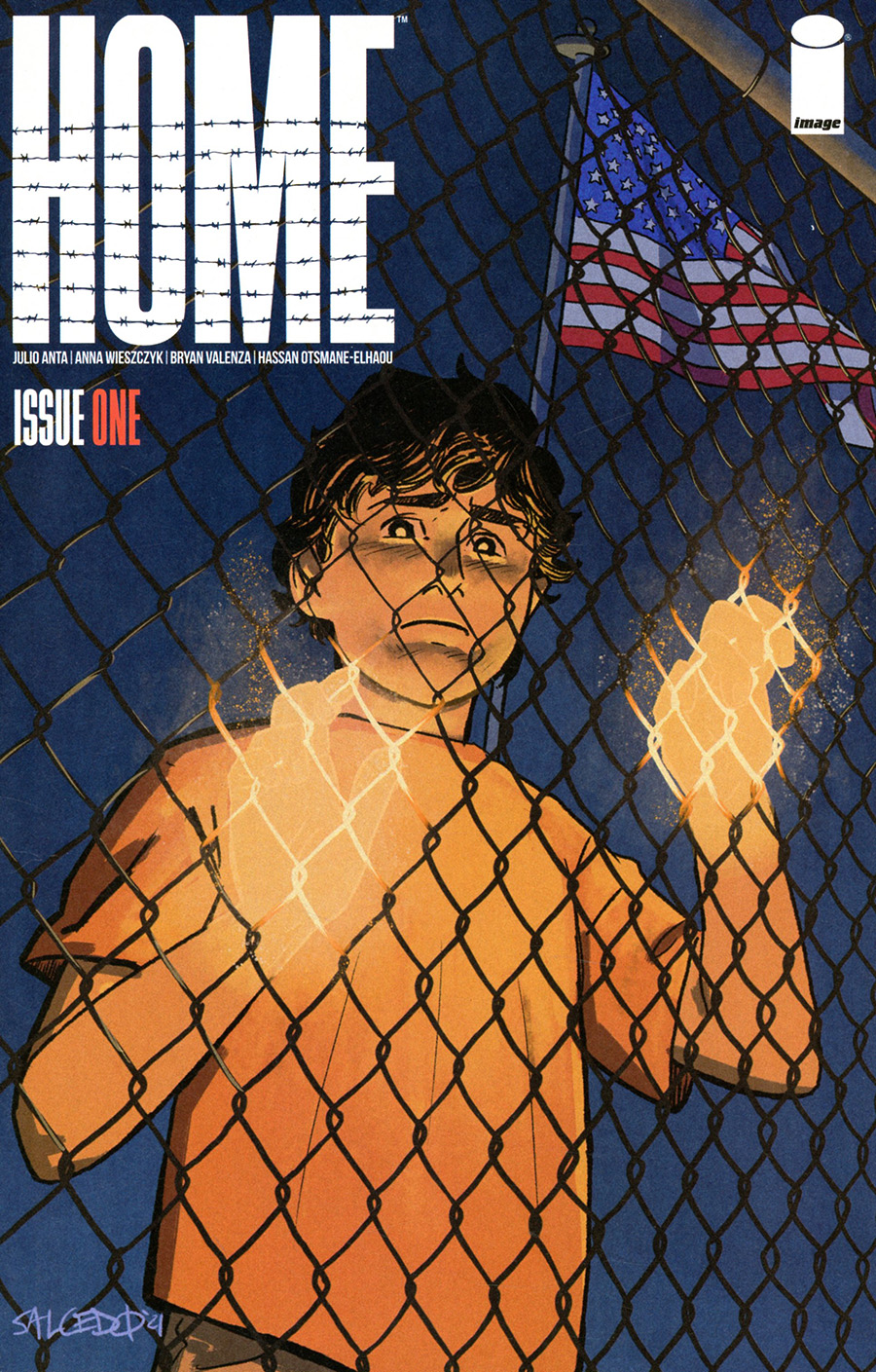 Home (Image Comics) #1 Cover B Variant Jacoby Salcedo Cover