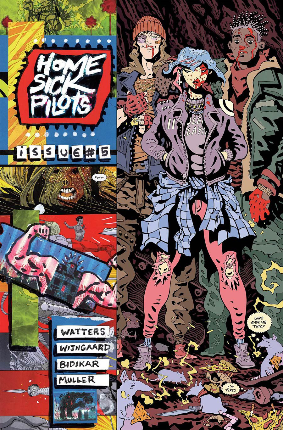 Home Sick Pilots #5 Cover B Variant Tradd Moore Cover