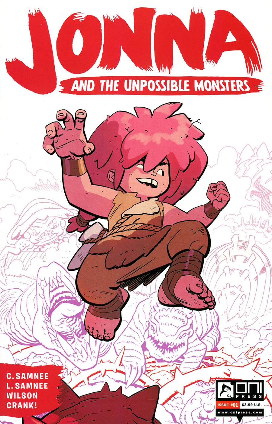 Jonna And The Unpossible Monsters #1 Cover G 2Nd Ptg