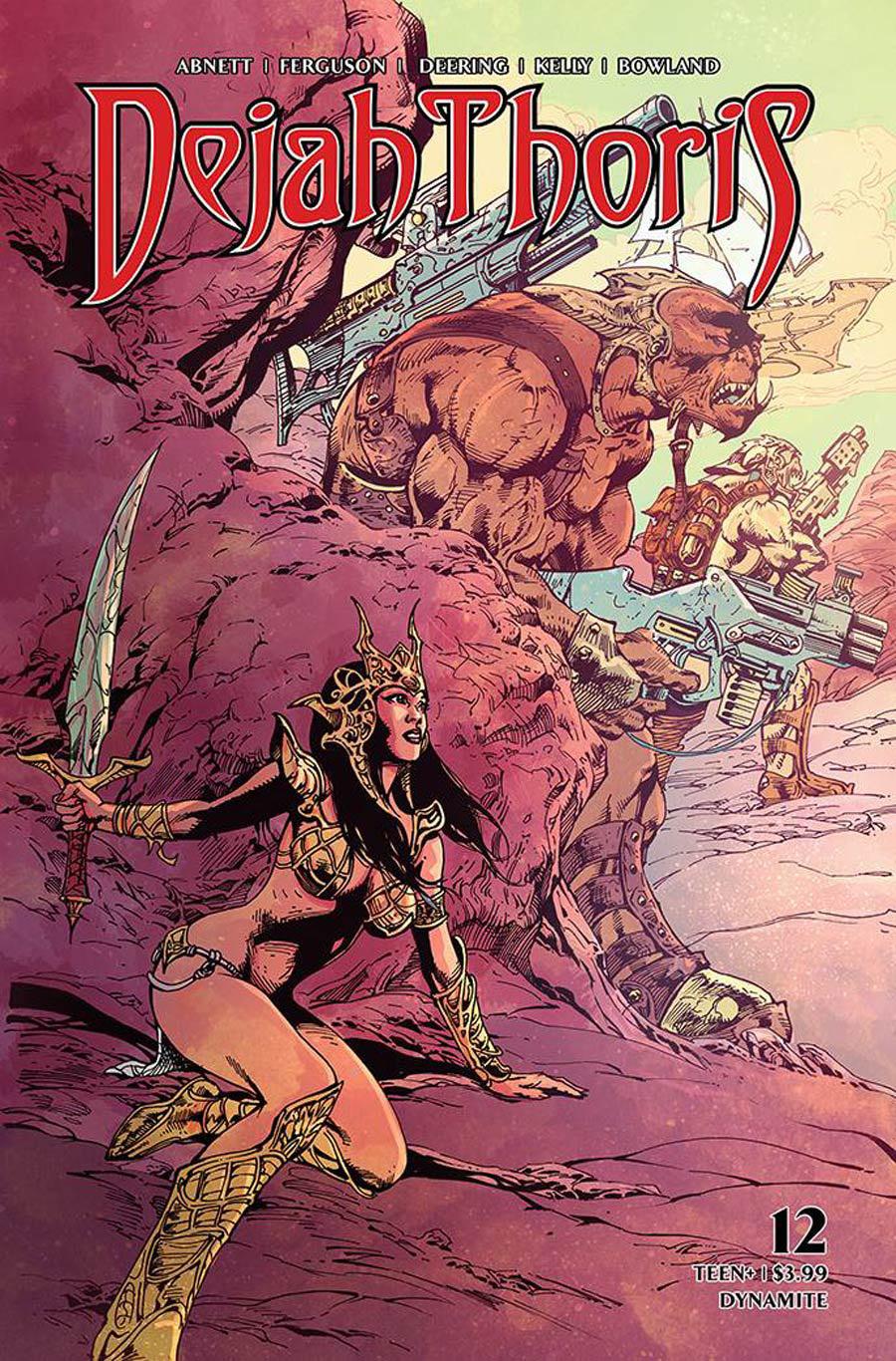 Dejah Thoris Vol 3 #12 Cover F Variant Roberto Castro Cover