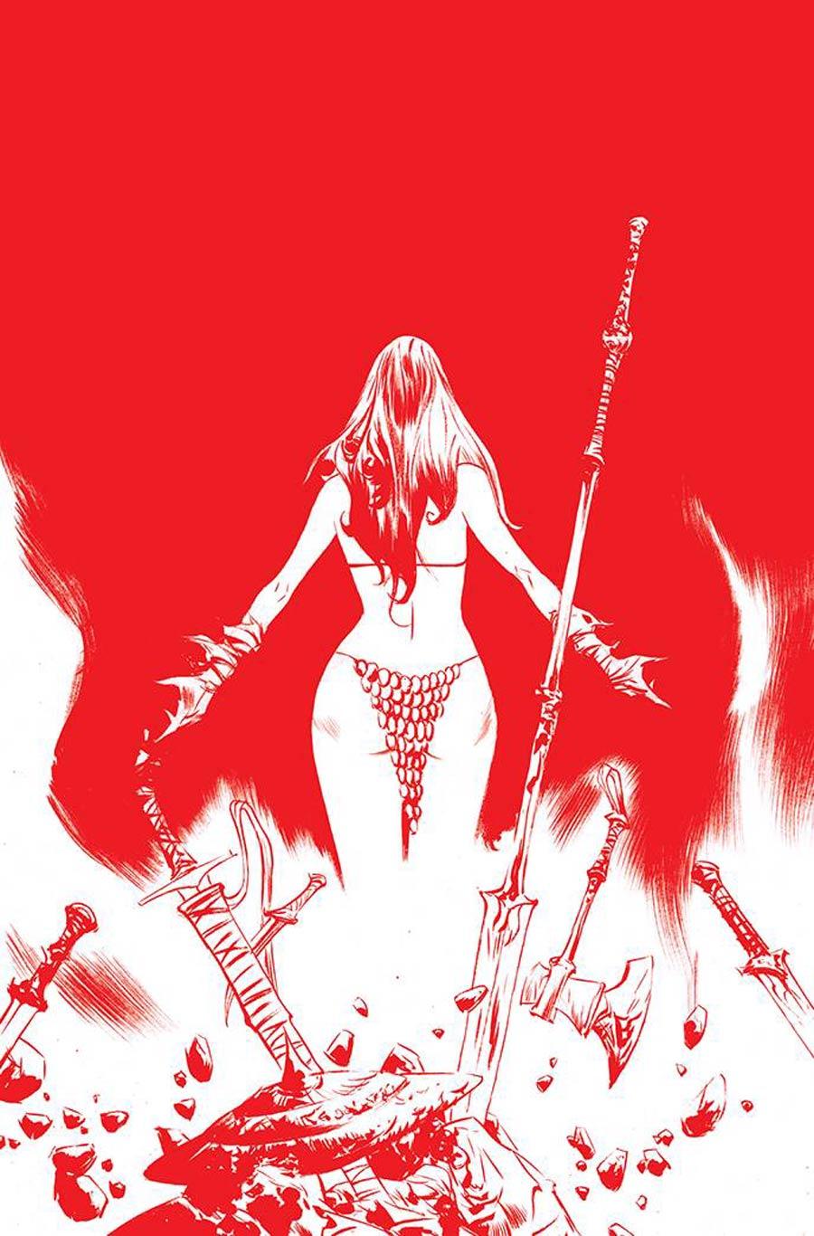 Red Sonja Vol 8 #26 Cover F Variant Jae Lee Tint Virgin Premium Cover