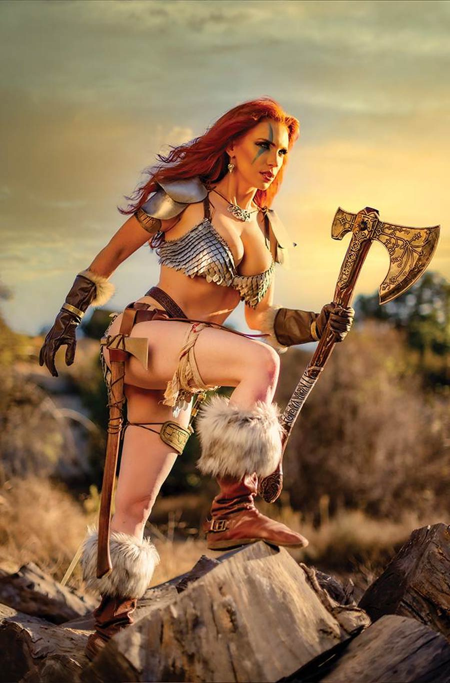 Red Sonja Vol 8 #26 Cover I Incentive Gracie The Cosplay Lass Cosplay Photo Virgin Cover