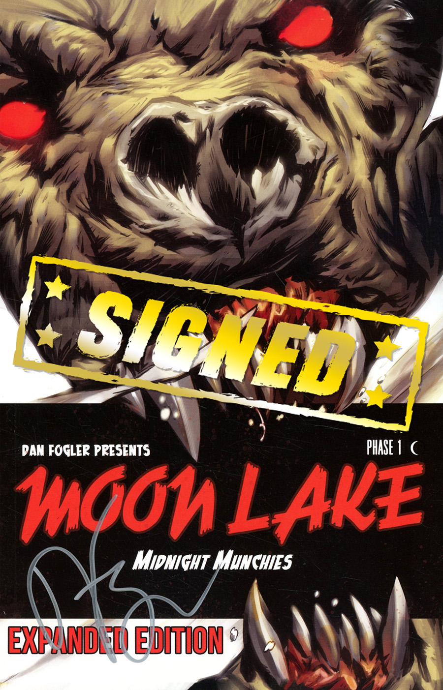 Moon Lake Vol 1 Midnight Munchies Expanded Edition TP Signed By Dan Fogler
