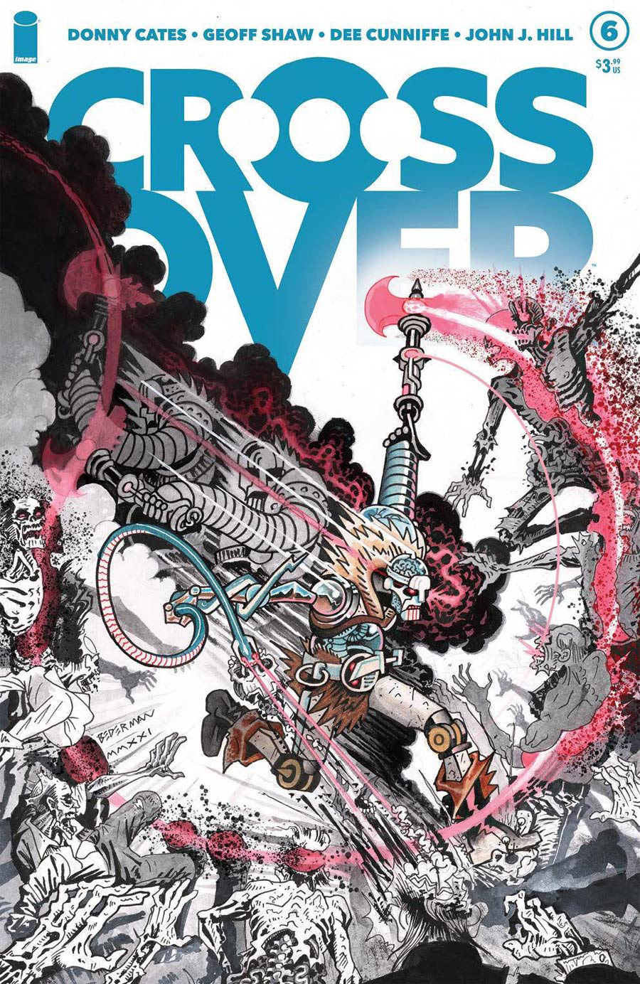 Crossover #6 Cover D Variant Ian Bederman Cover