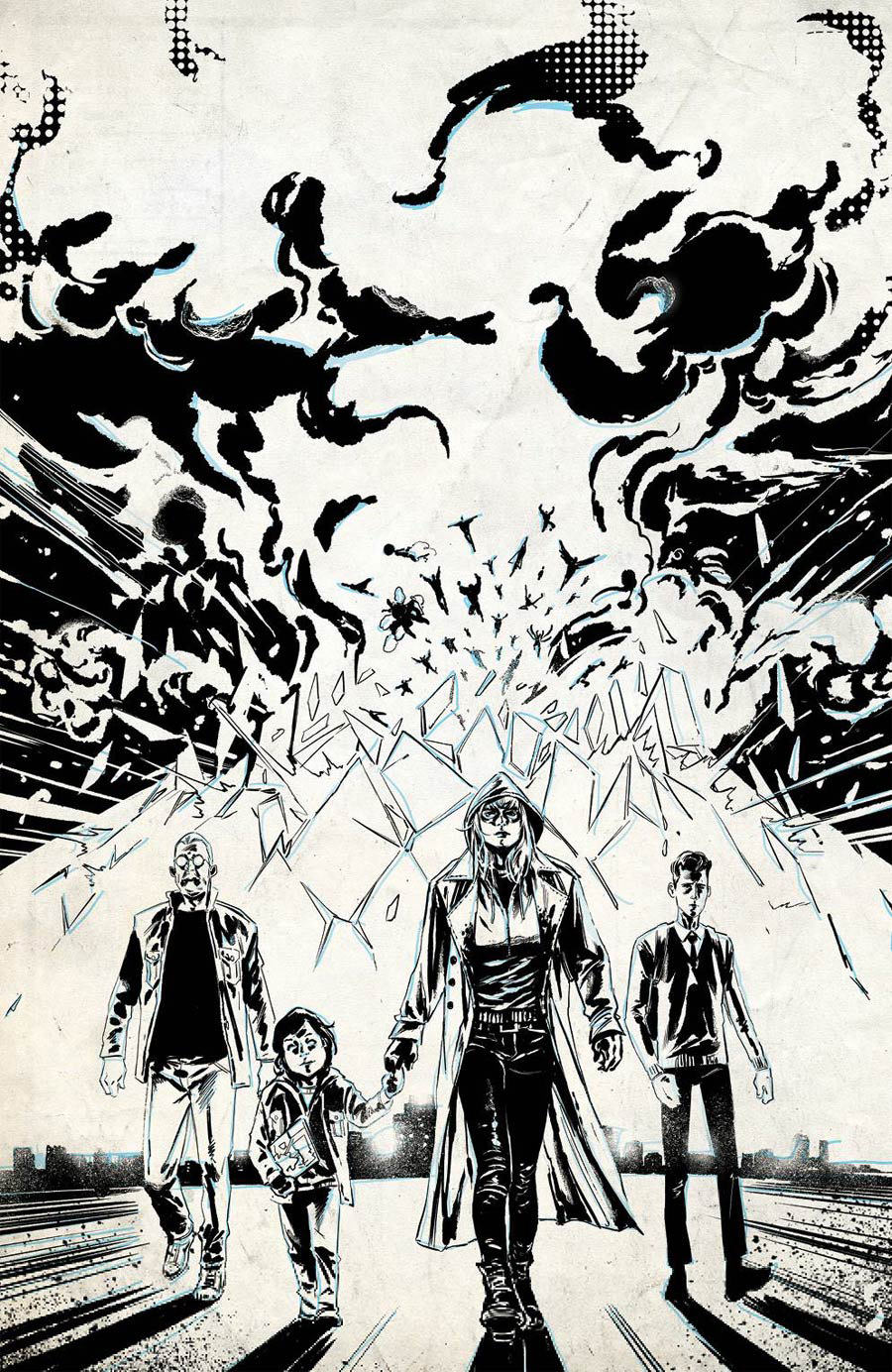 Crossover #6 Cover G Incentive Geoff Shaw Raw Cover