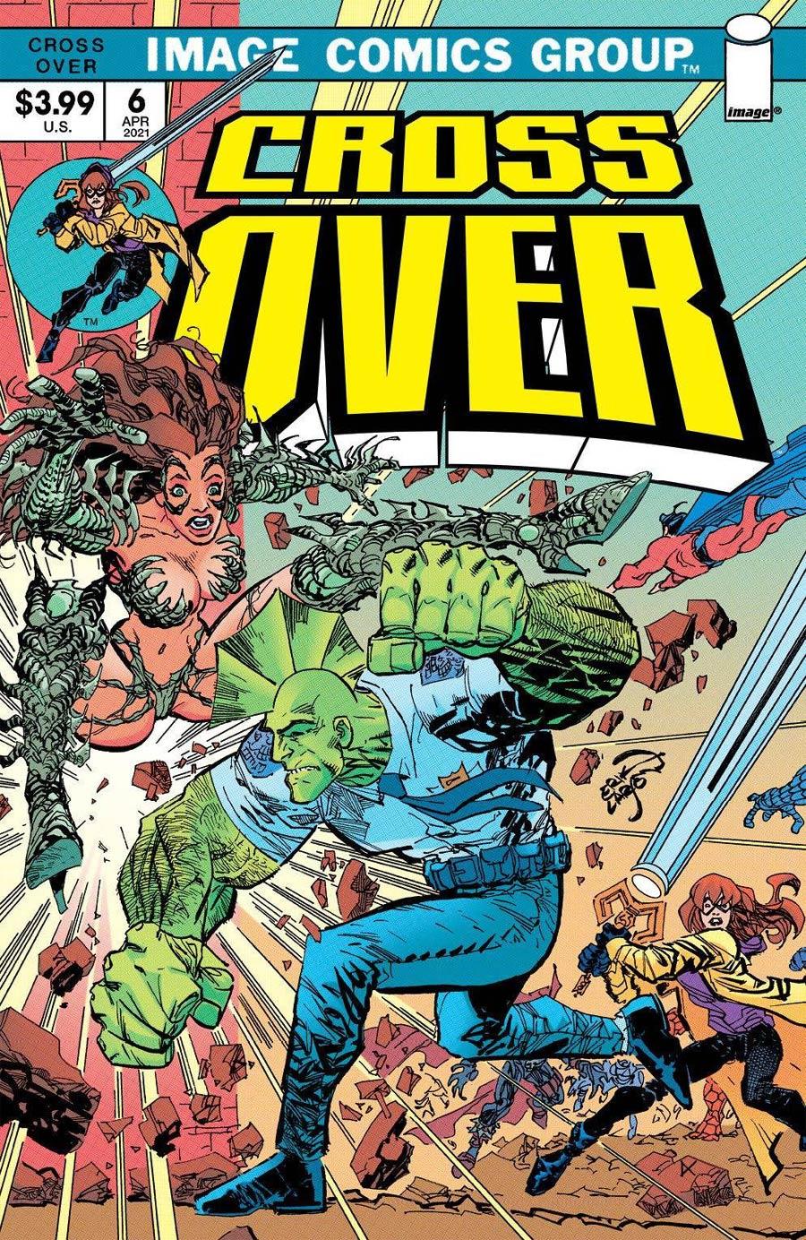 Crossover #6 Cover I Incentive Erik Larsen Foil Cover