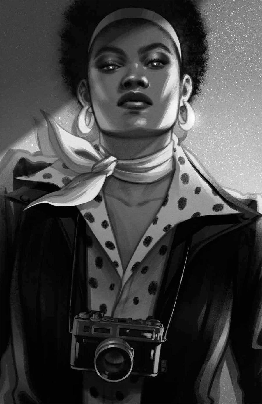 Abbott 1973 #4 Cover D Incentive Jen Bartel Virgin Black & White Variant Cover