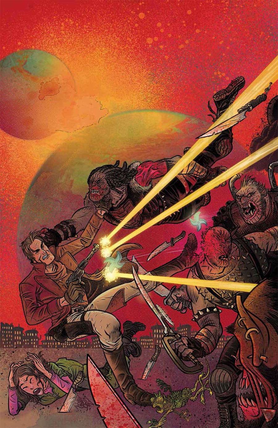 Firefly #28 Cover F Incentive David Rubin Virgin Cover