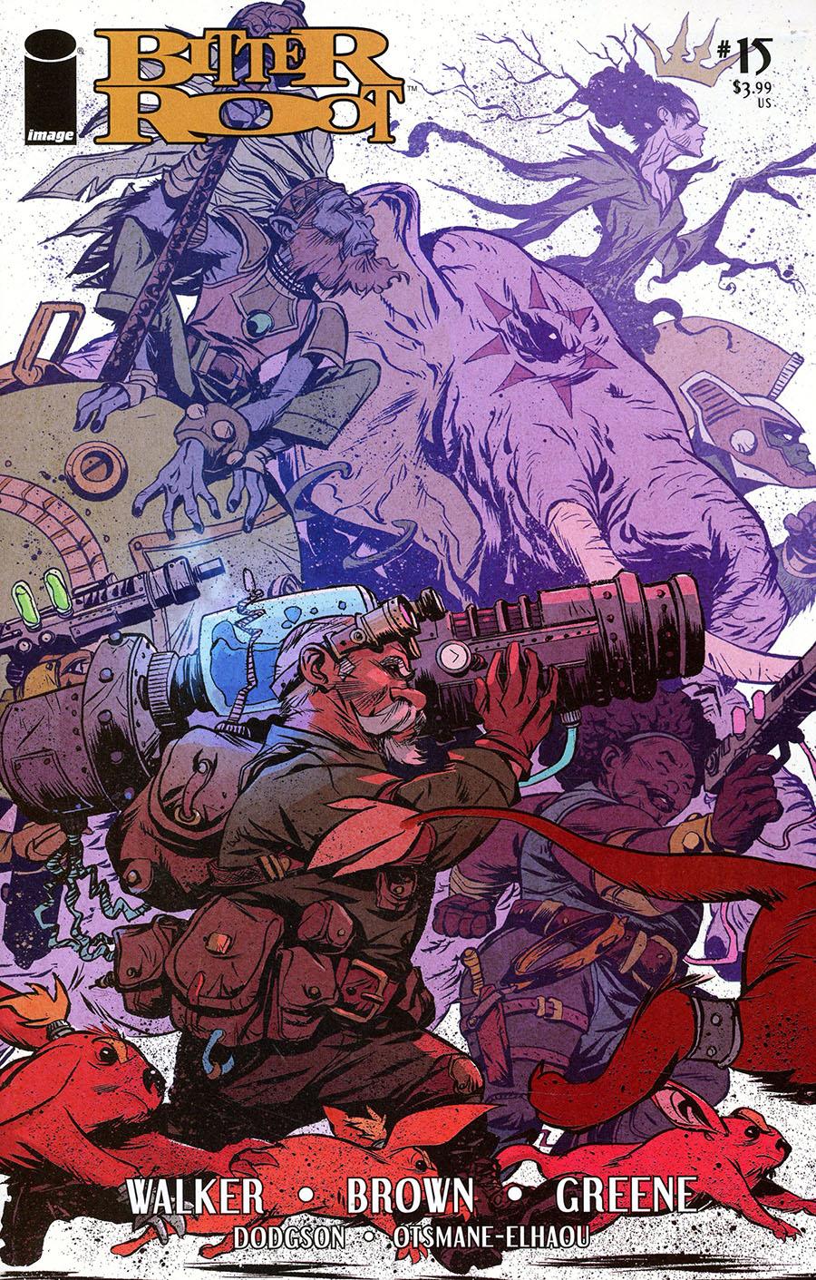Bitter Root #15 Cover A Regular Sanford Greene Cover