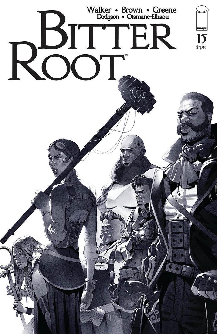 Bitter Root #15 Cover B Variant Sanford Greene Cover