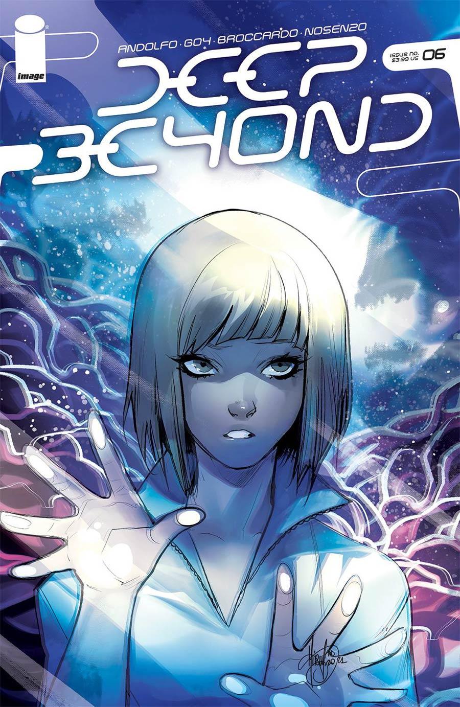 Deep Beyond #6 Cover B Variant Mirka Andolfo Cover