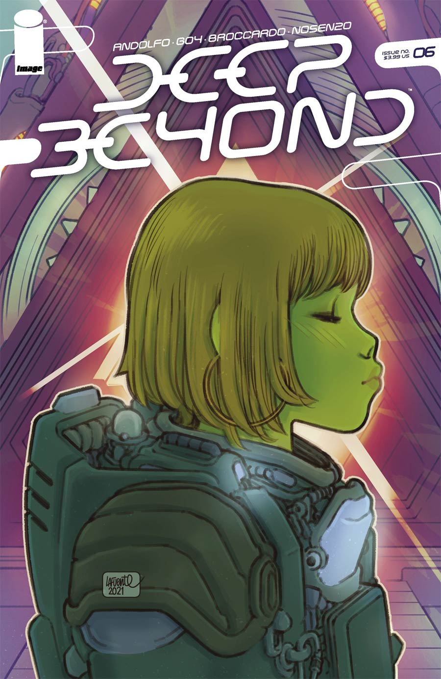 Deep Beyond #6 Cover C Variant David LaFuente Cover