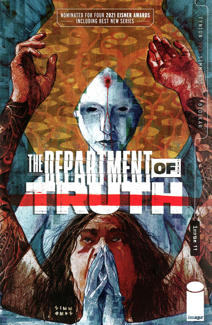 Department Of Truth #11 Cover A Regular Martin Simmonds Cover