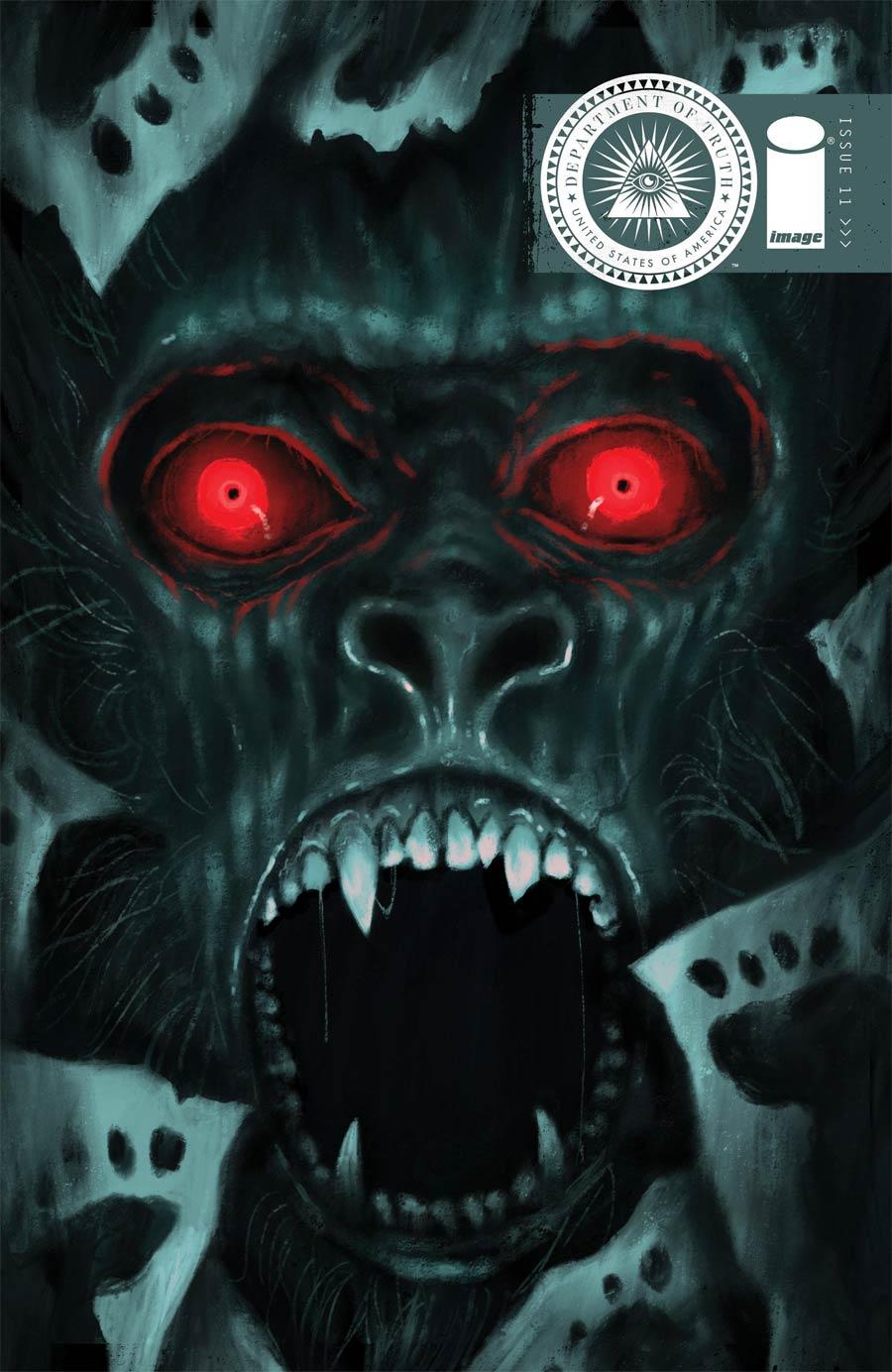 Department Of Truth #11 Cover B Variant Trevor Henderson Cover