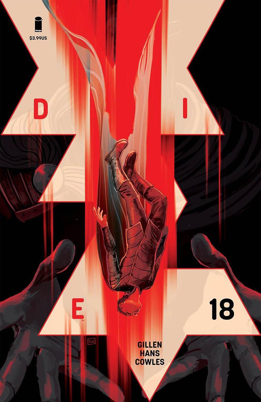 Die #18 Cover A Regular Stephanie Hans Cover
