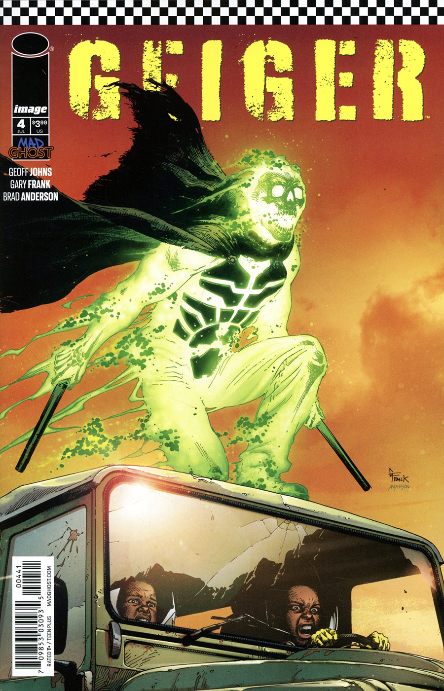 Geiger #4 Cover D Variant Gary Frank Cover