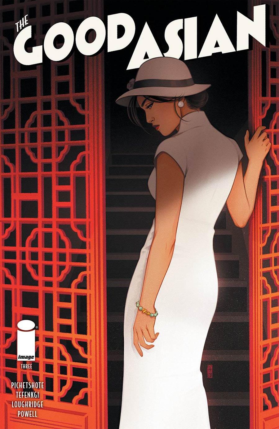 Good Asian #3 Cover B Variant Jen Bartel Cover