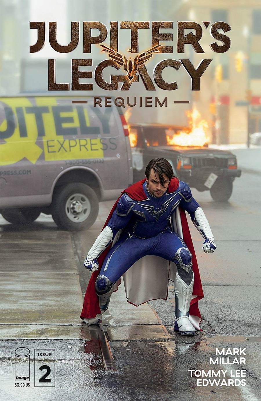 Jupiters Legacy Requiem #2 Cover D Variant Netflix Photo Cover