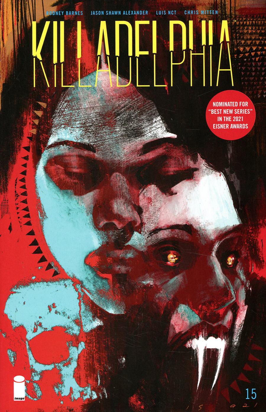 Killadelphia #15 Cover A Regular Jason Shawn Alexander Cover