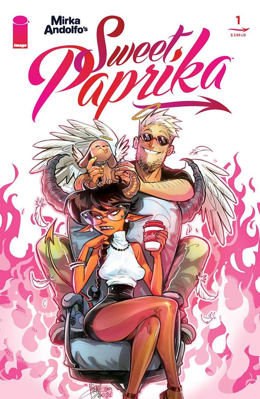 Mirka Andolfos Sweet Paprika #1 Cover A Regular Mirka Andolfo Cover