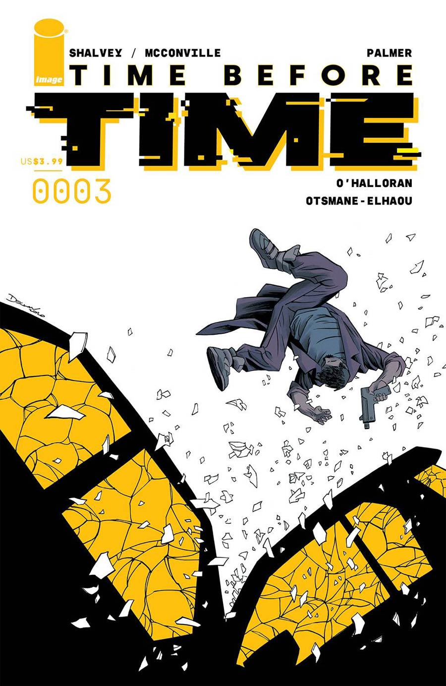 Time Before Time #3 Cover A Regular Declan Shalvey Cover