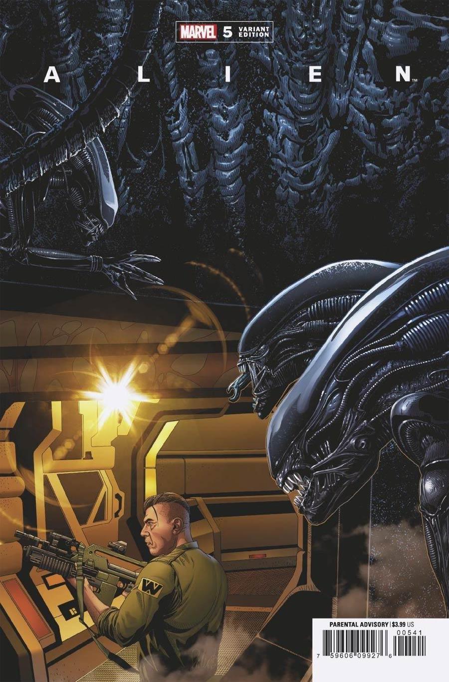 Alien #5 Cover C Variant Salvador Larroca Cover