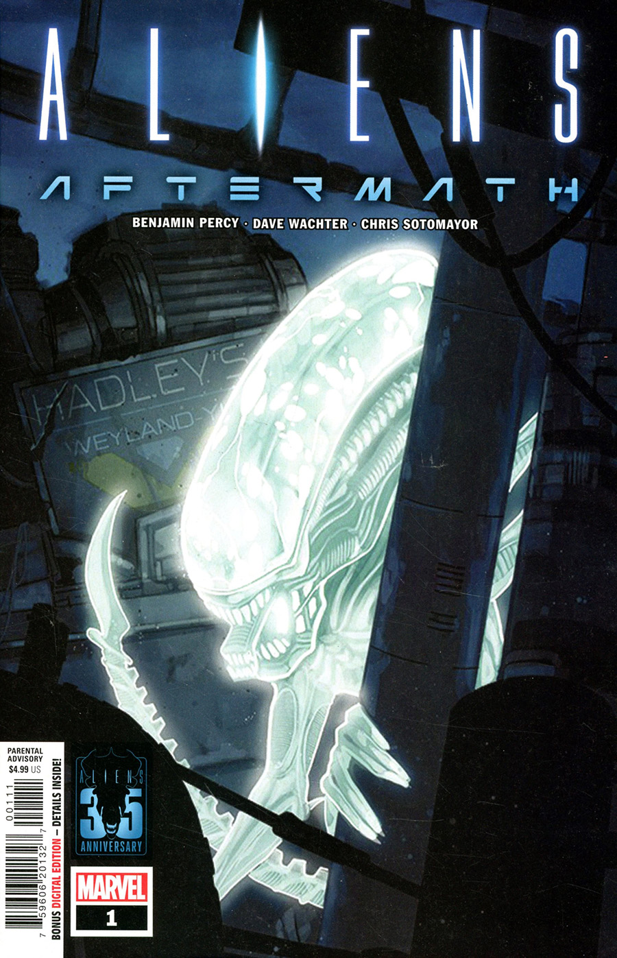 Aliens Aftermath #1 (One Shot) Cover A Regular Phil Noto Cover