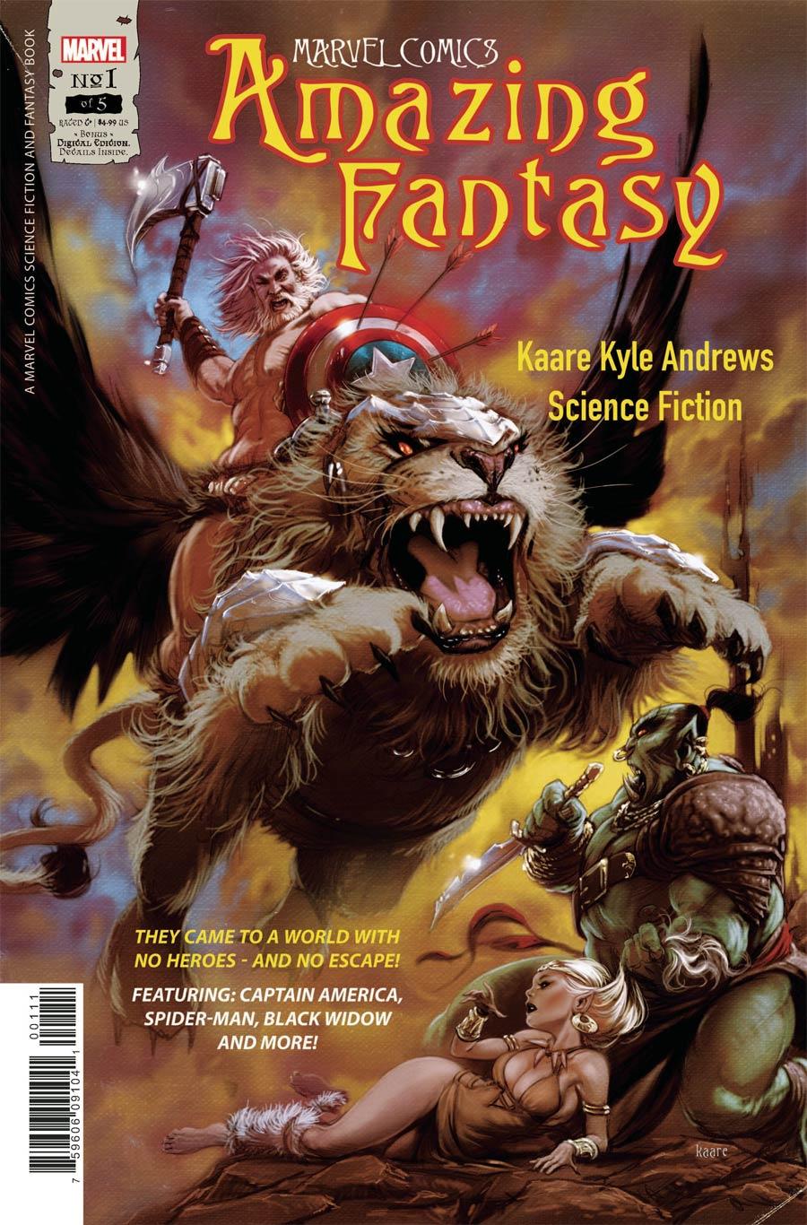 Amazing Fantasy Vol 3 #1 Cover A Regular Kaare Andrews Cover