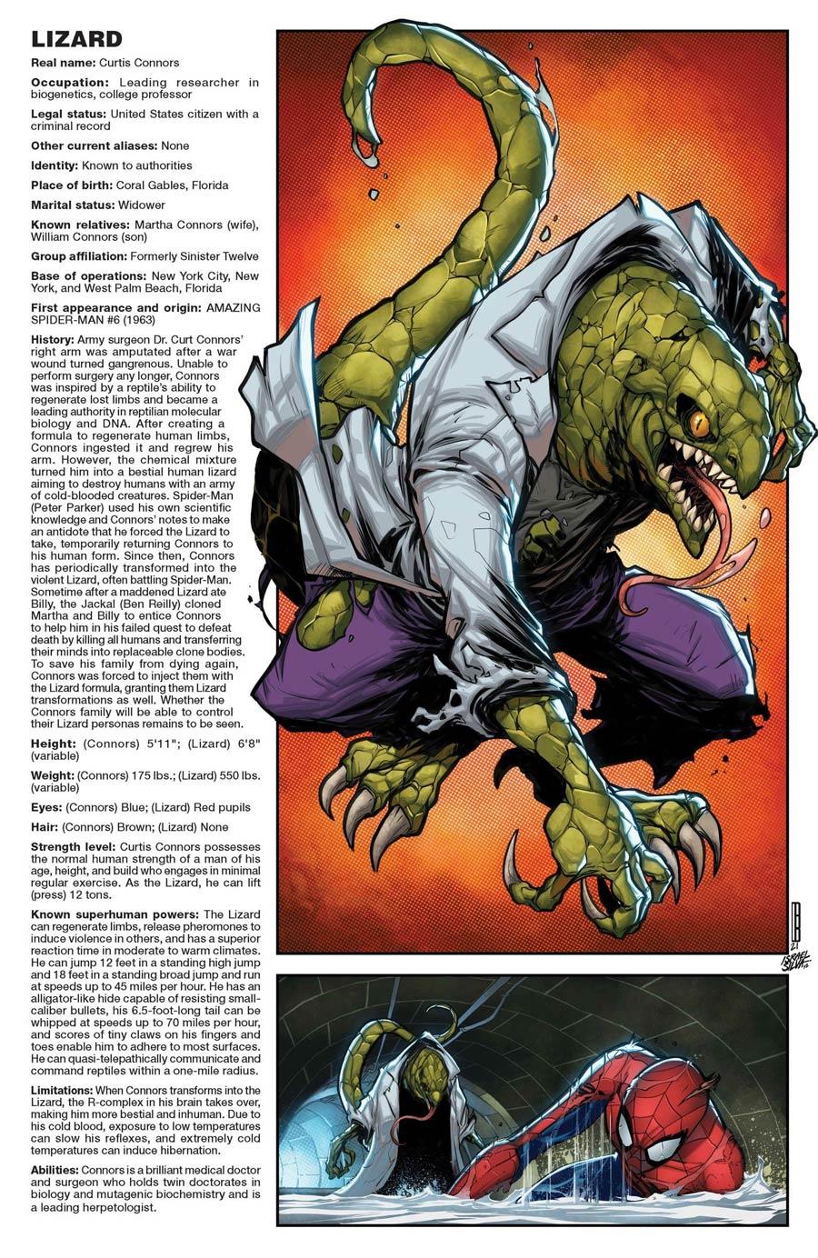 Amazing Spider-Man Vol 5 #71 Cover C Variant David Baldeon Handbook Cover (Sinister War Tie-In)