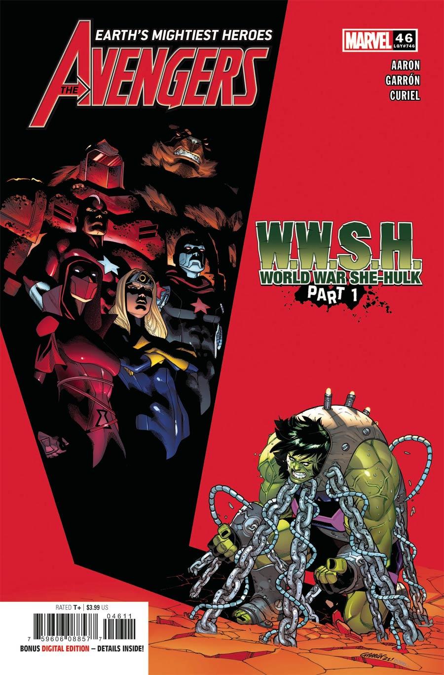 Avengers Vol 7 #46 Cover A Regular Javier Garron Cover