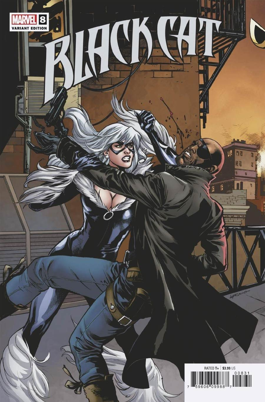 Black Cat Vol 2 #8 Cover B Variant Emanuela Lupacchino Connecting Cover