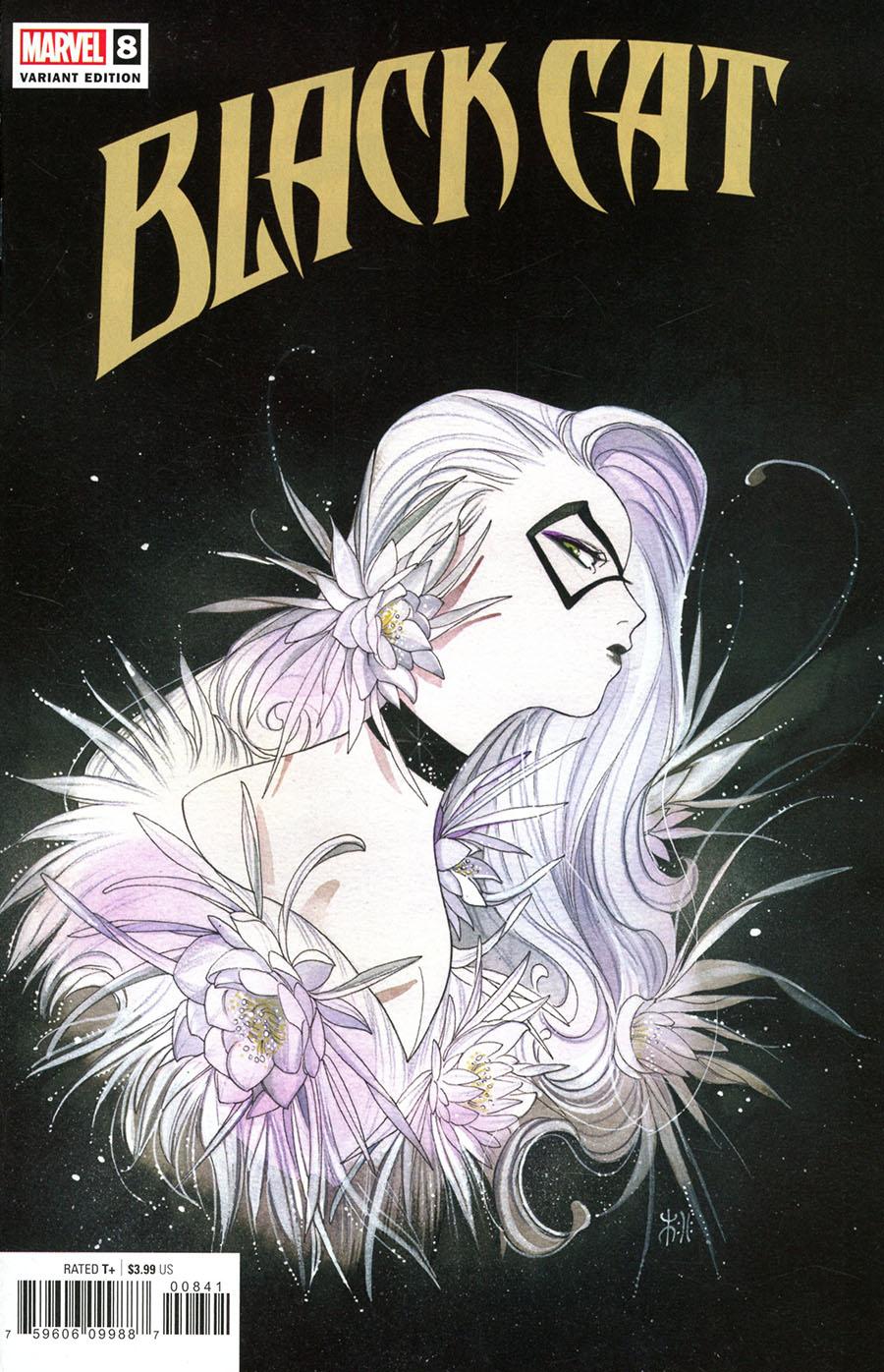Black Cat Vol 2 #8 Cover D Variant Peach Momoko Cover