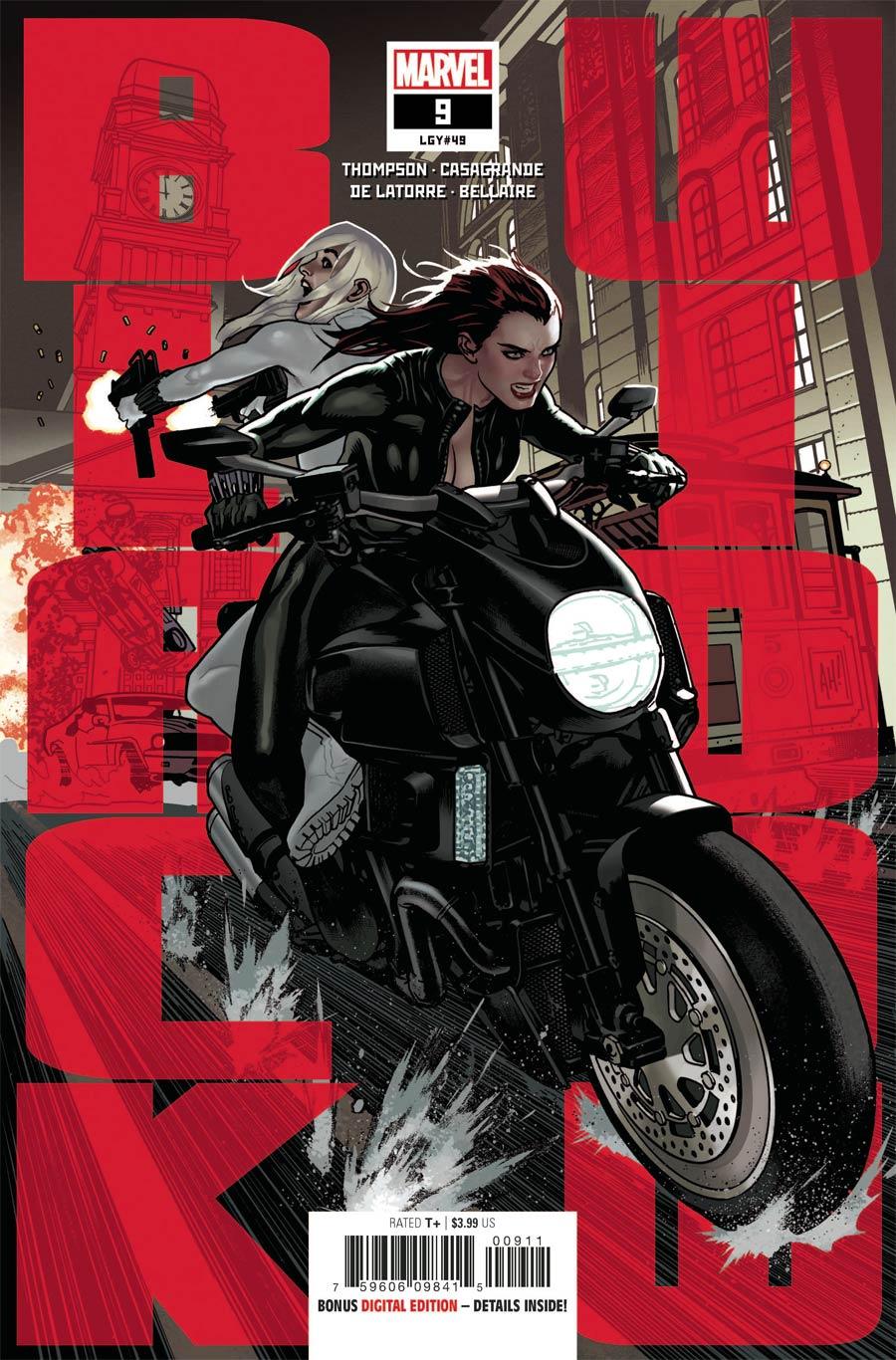 Black Widow Vol 8 #9 Cover A Regular Adam Hughes Cover