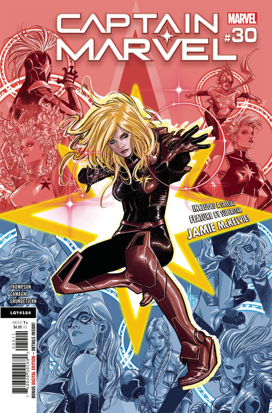 Captain Marvel Vol 9 #30 Cover A Regular Marco Checchetto Cover