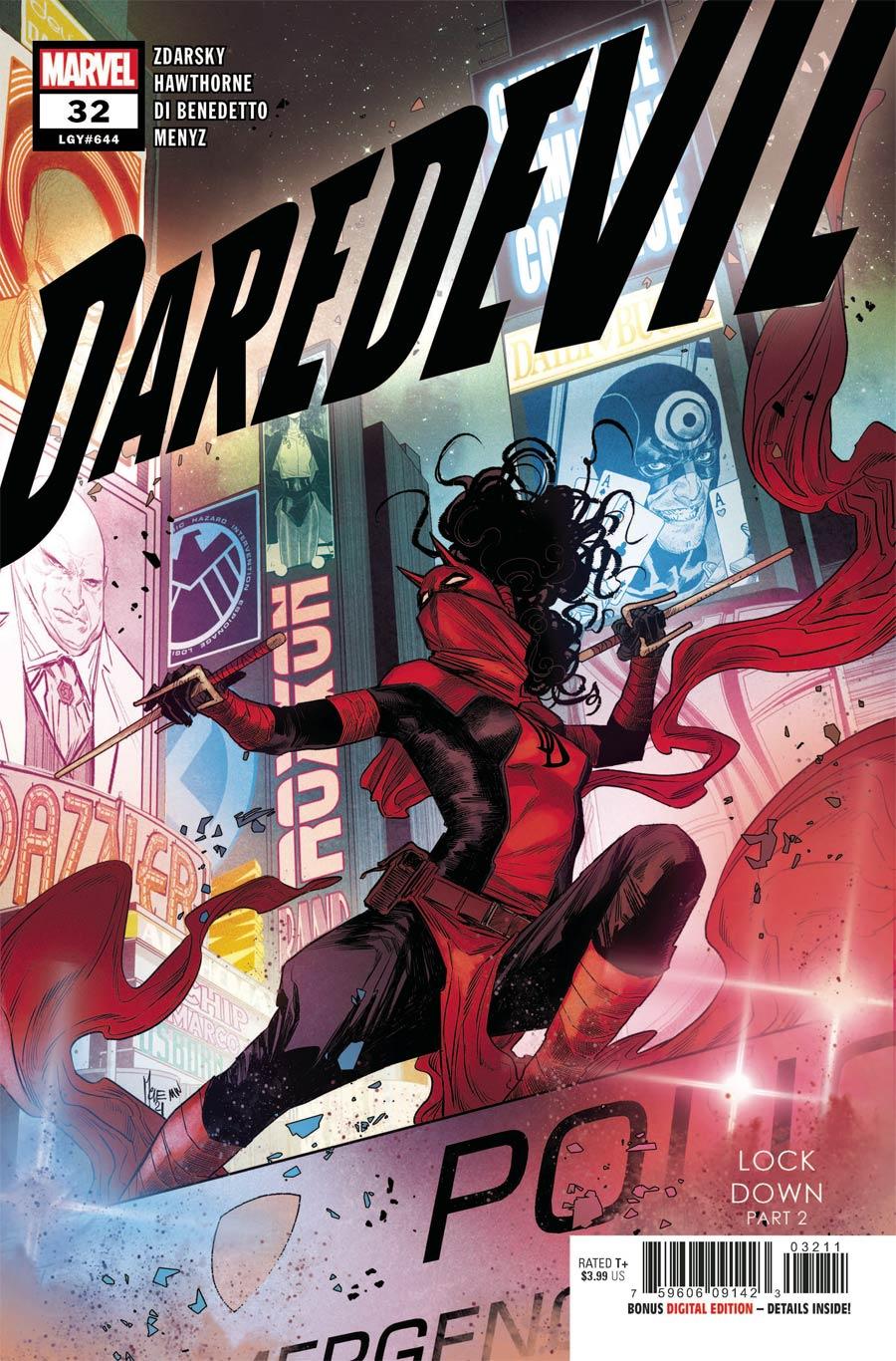 Daredevil Vol 6 #32 Cover A Regular Marco Checchetto Cover