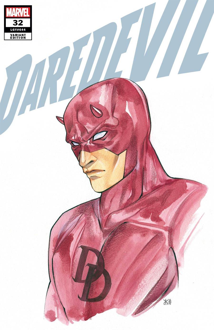 Daredevil Vol 6 #32 Cover B Variant Peach Momoko Marvel Anime Cover