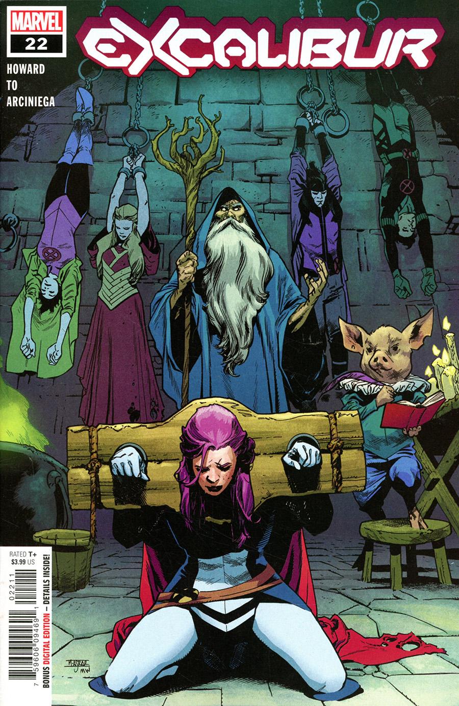 Excalibur Vol 4 #22 Cover A Regular Mahmud Asrar Cover