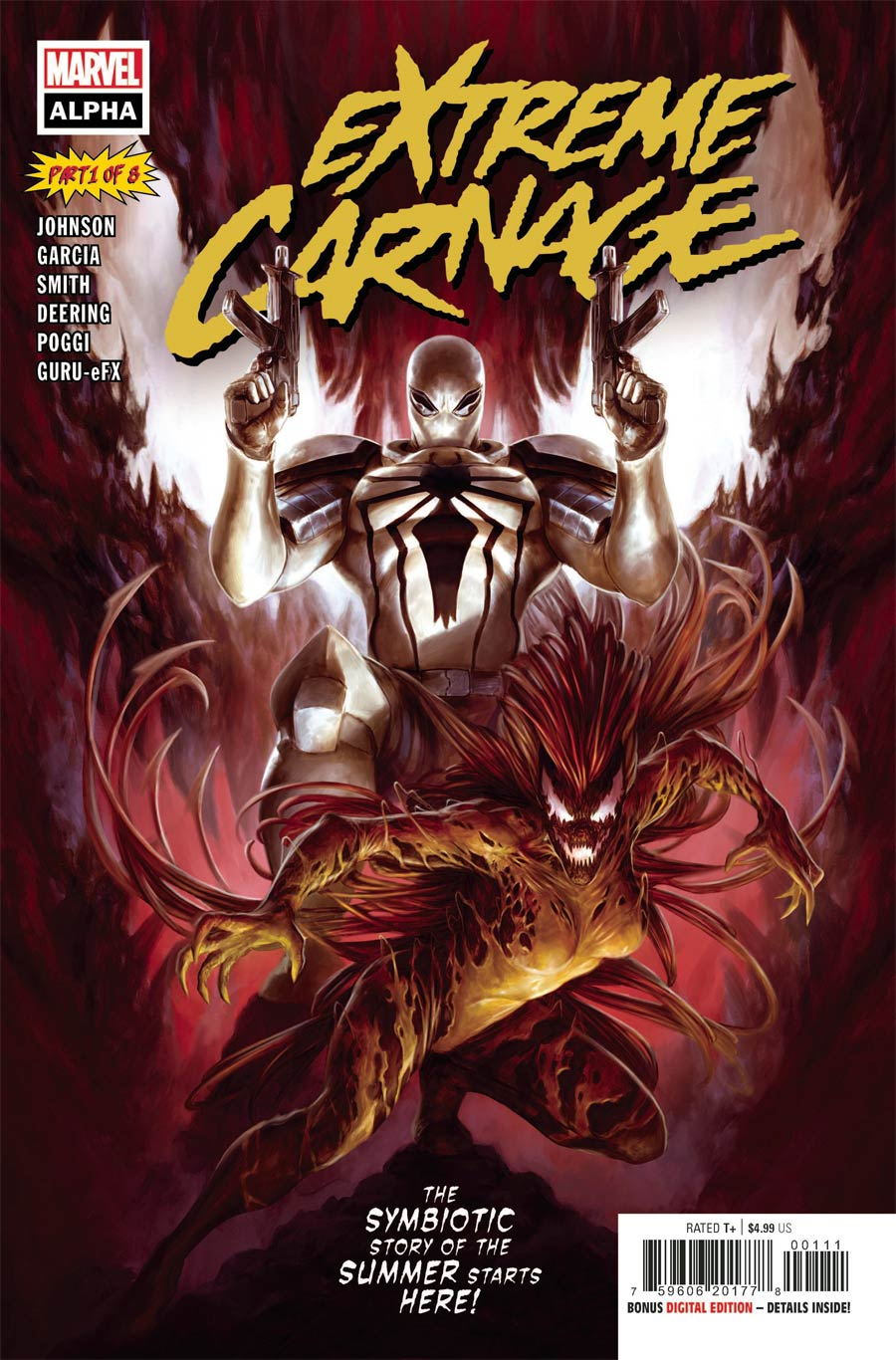 Extreme Carnage Alpha #1 (One Shot) Cover A Regular Dave Rapoza Cover