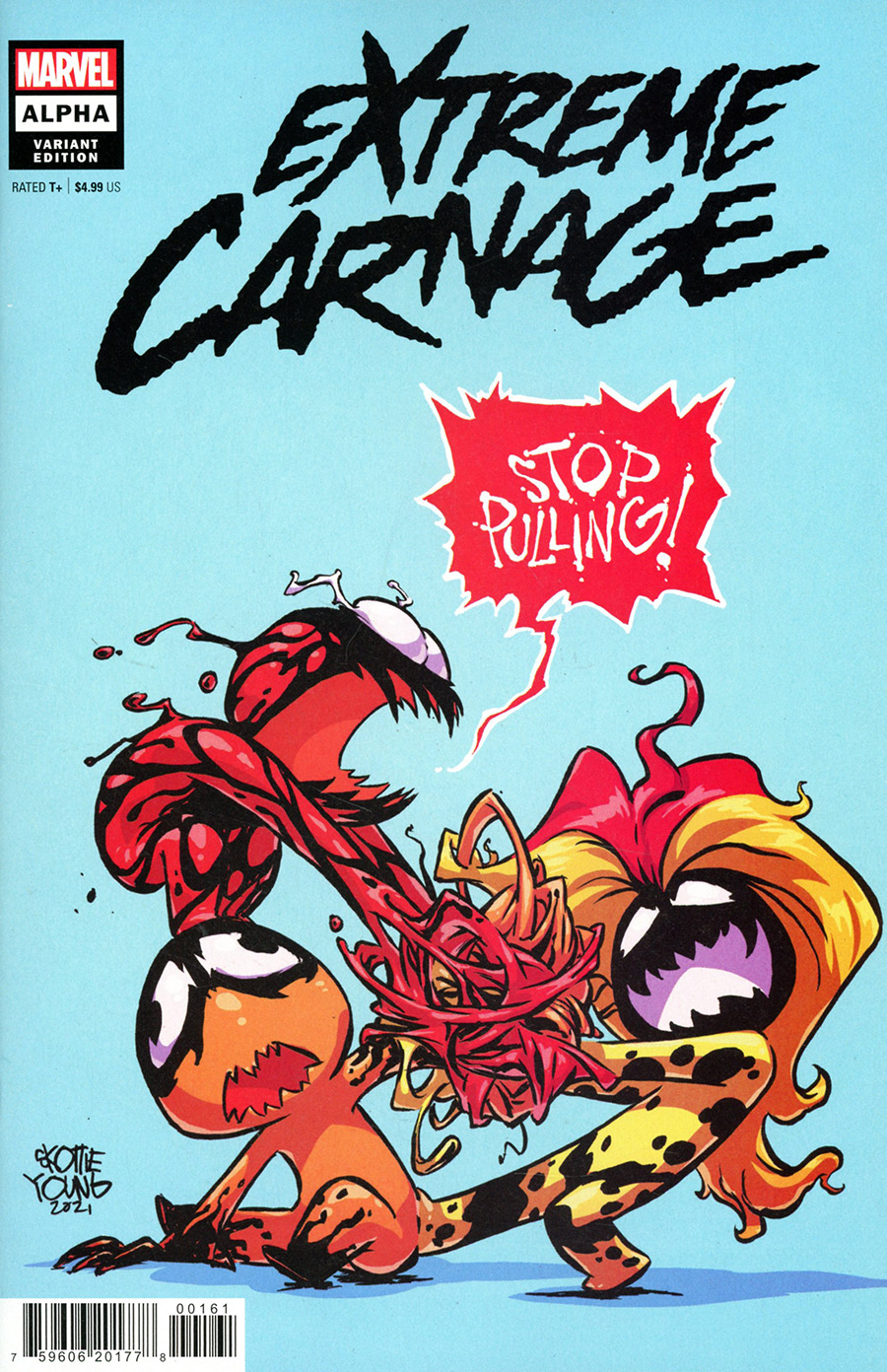 Extreme Carnage Alpha #1 (One Shot) Cover D Variant Skottie Young Cover