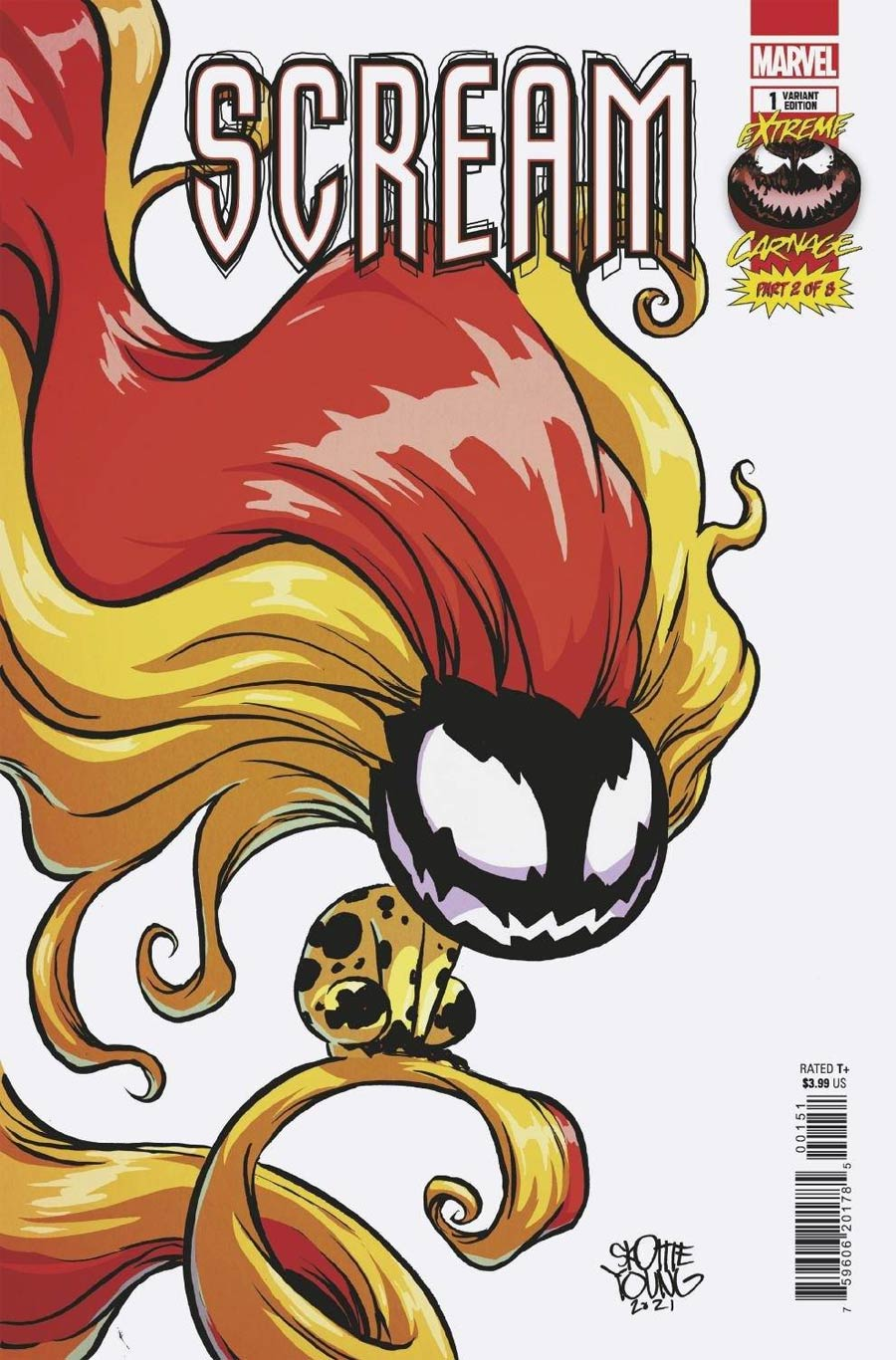 Extreme Carnage Scream #1 (One Shot) Cover C Variant Skottie Young Cover