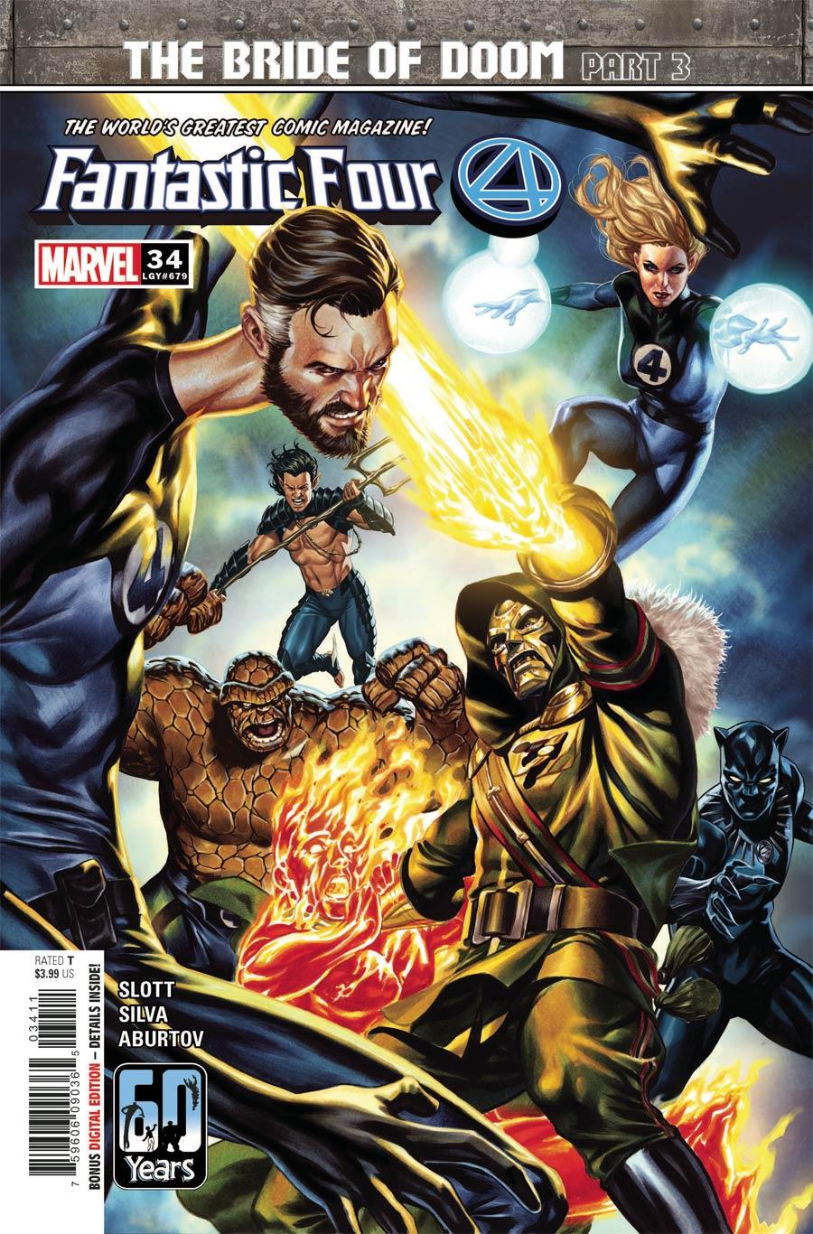 Fantastic Four Vol 6 #34 Cover A Regular Mark Brooks Cover