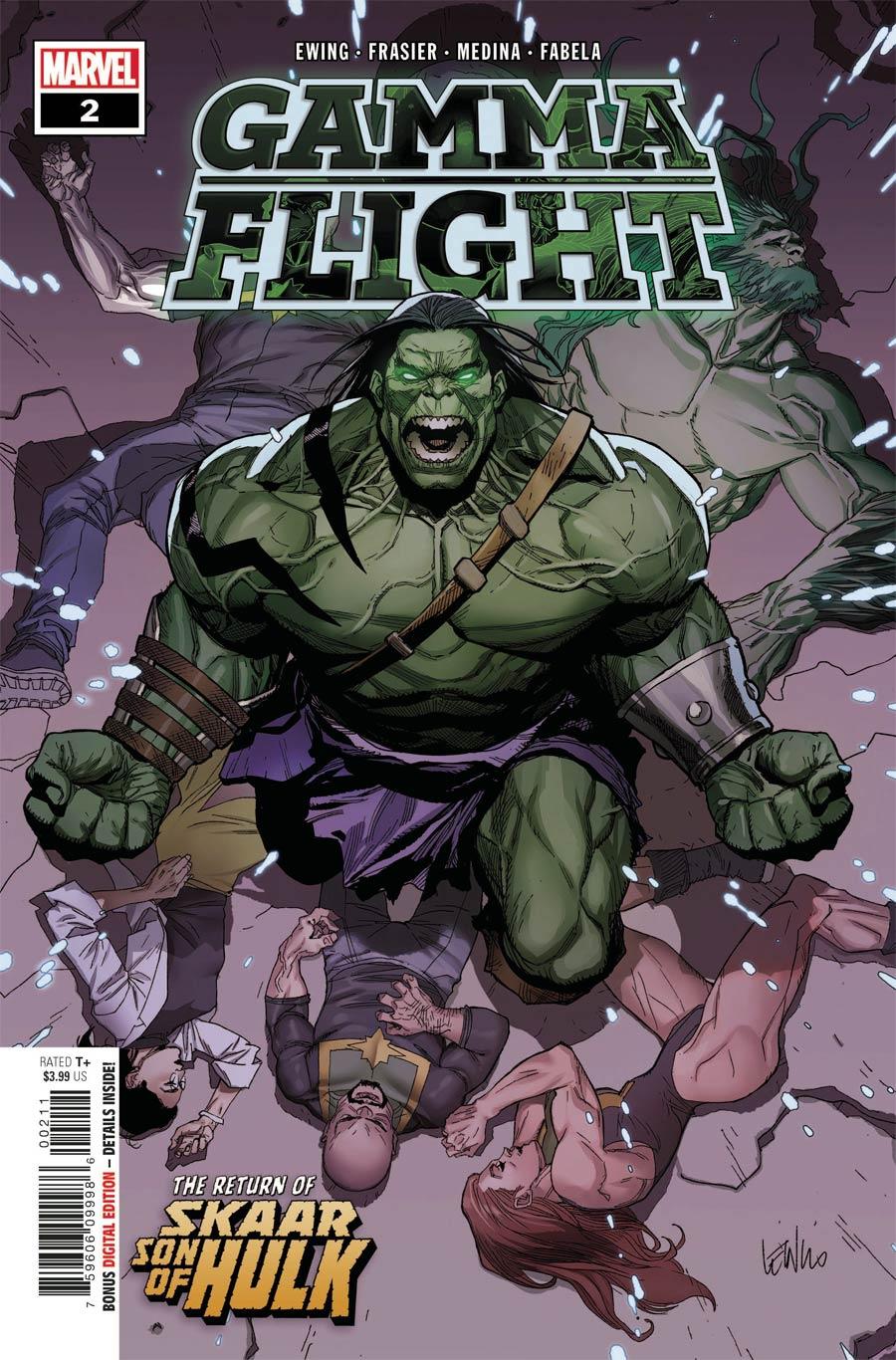 Gamma Flight #2 Cover A Regular Leinil Francis Yu Cover