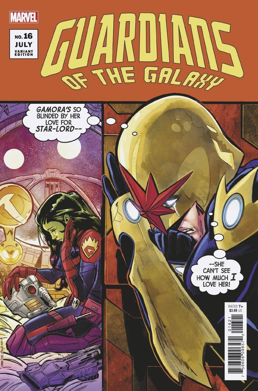 Guardians Of The Galaxy Vol 6 #16 Cover C Variant Phil Jimenez Cover (Last Annihilation Tie-In)