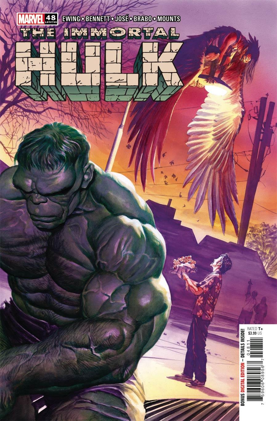 Immortal Hulk #48 Cover A Regular Alex Ross Cover
