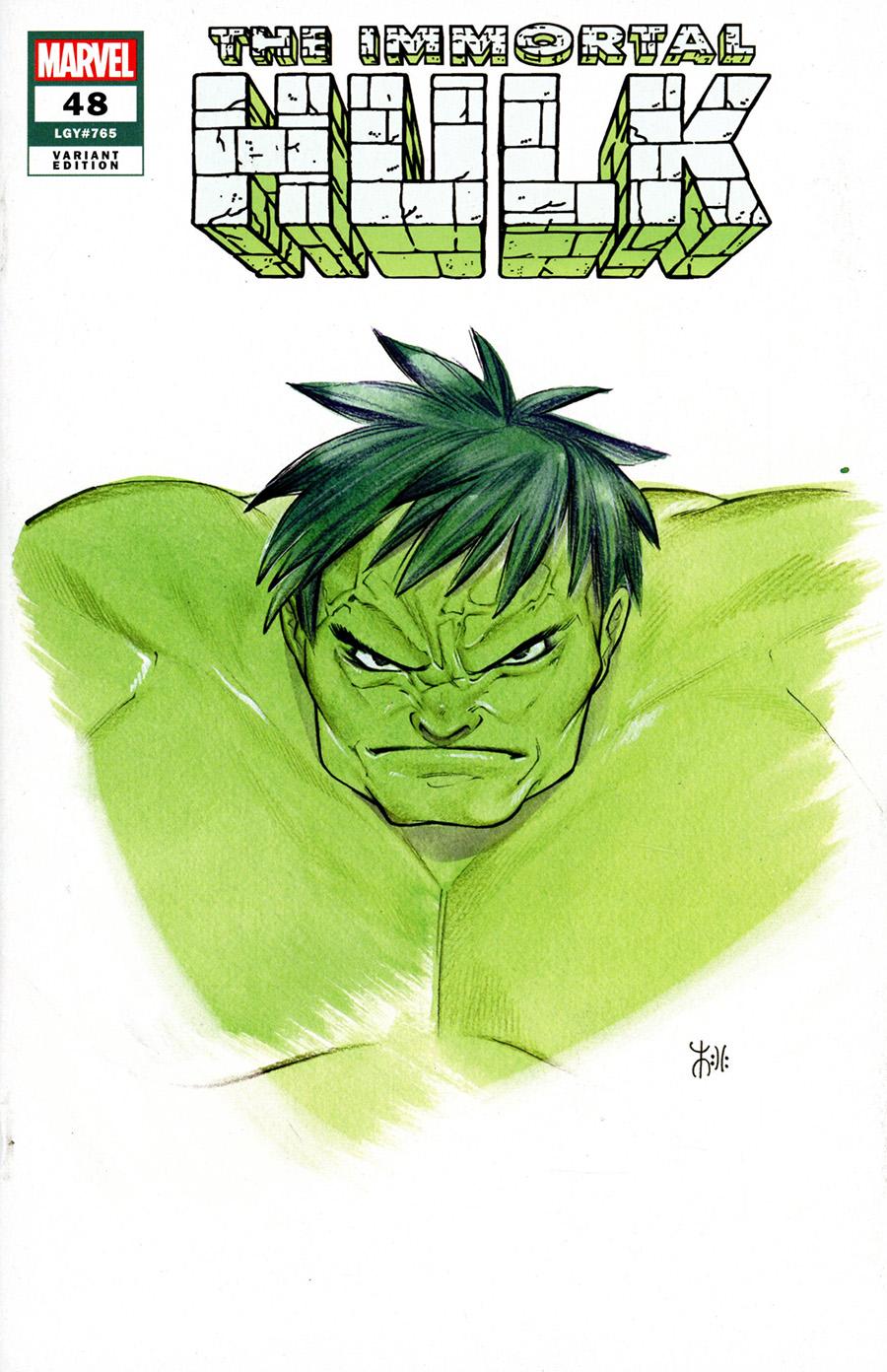 Immortal Hulk #48 Cover B Variant Peach Momoko Marvel Anime Cover