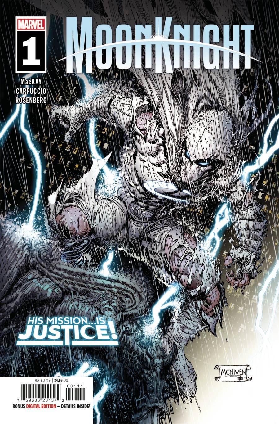 Moon Knight Vol 9 #1 Cover A Regular Steve McNiven Cover