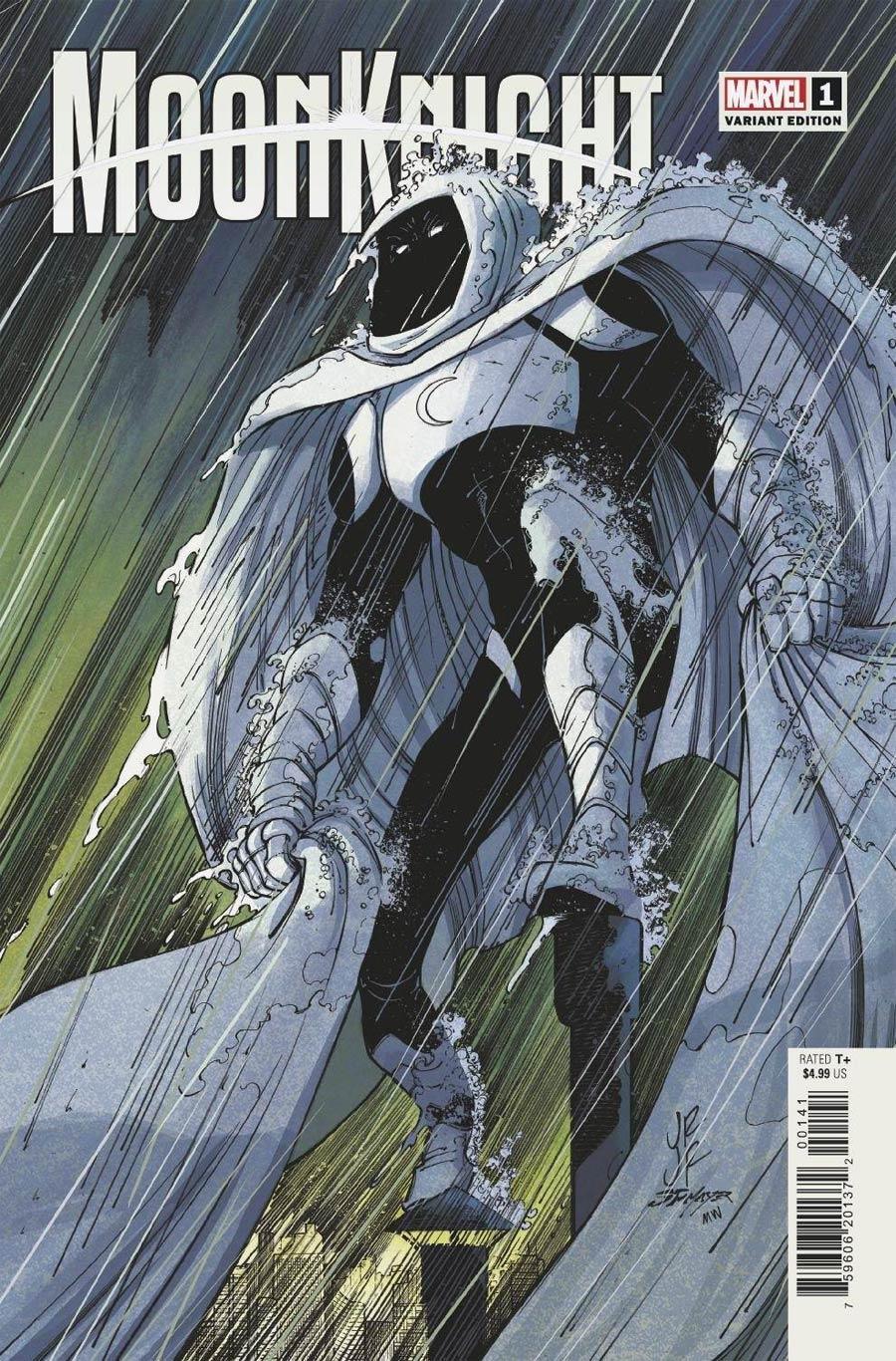Moon Knight Vol 9 #1 Cover B Variant John Romita Jr Cover (Limit 1 Per Customer)