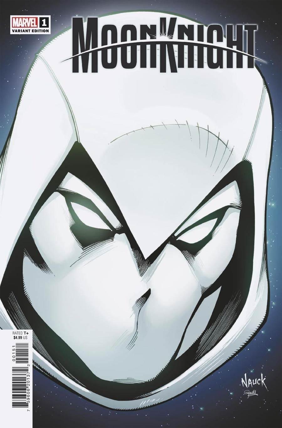 Moon Knight Vol 9 #1 Cover C Variant Todd Nauck Headshot Cover