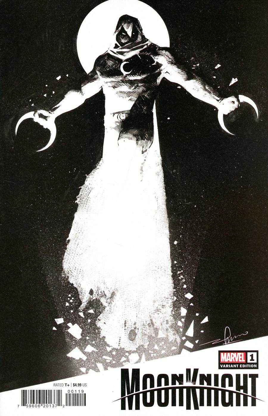 Moon Knight Vol 9 #1 Cover H Variant Gerardo Zaffino Cover